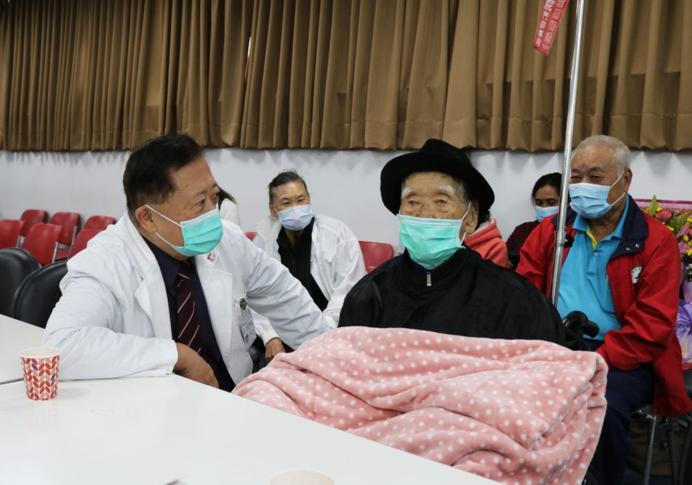 救心手術後存活最高齡百歲人瑞在台灣! 台灣醫療再寫世界紀錄