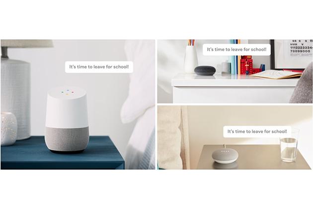 Google Assistant支援廣播功能 讓Home提醒家人「起床一起吃早餐了!」