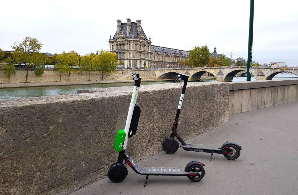 【有影】巴黎觀光移動一點也不難!共享電動滑板車初體驗