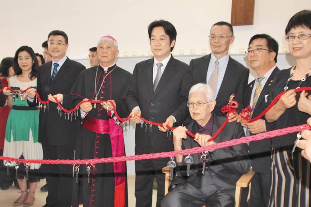 甘惠忠神父與賴清德  共同完成了這三個願望