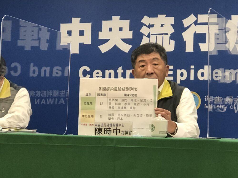 疫情再起!陳時中:香港、澳洲踢出安全國家名單  下一個恐是日本