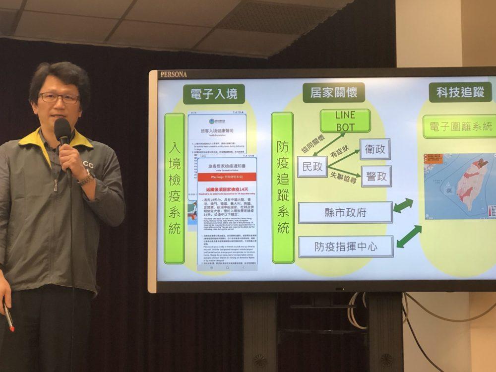 台灣居家檢疫全面啟動「電子圍籬」監控!  一離開範圍就發告警簡訊