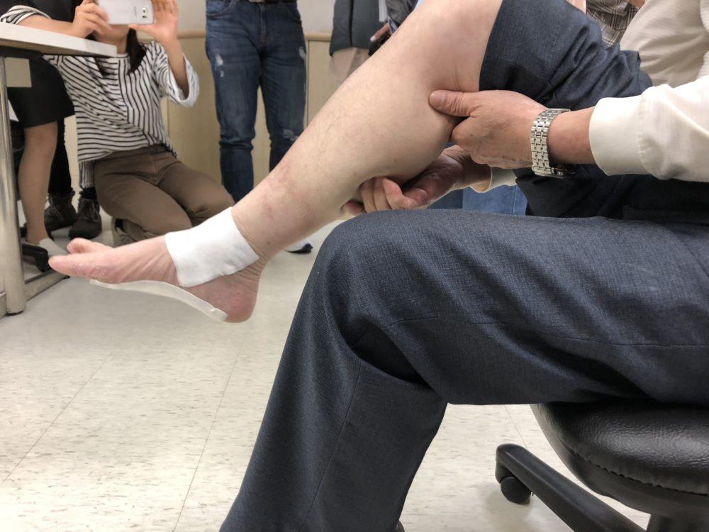 【有影】痠痛貼布貼5年無效  以為足底筋膜炎竟是「腳中風」險截肢