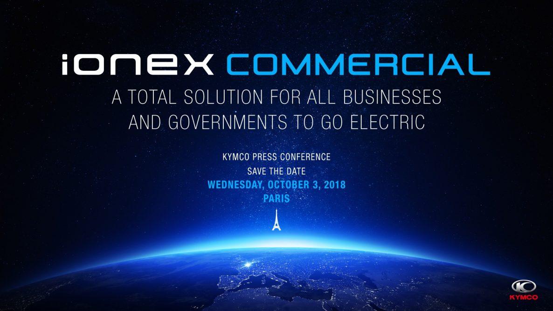 光陽IONEX走自己的路!10月巴黎發表會正式進軍歐洲