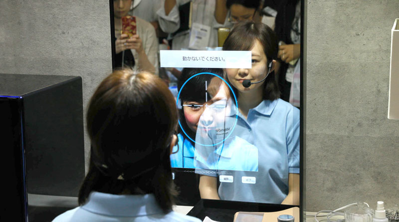 Panasonic推出智慧鏡子為你打造專屬面膜