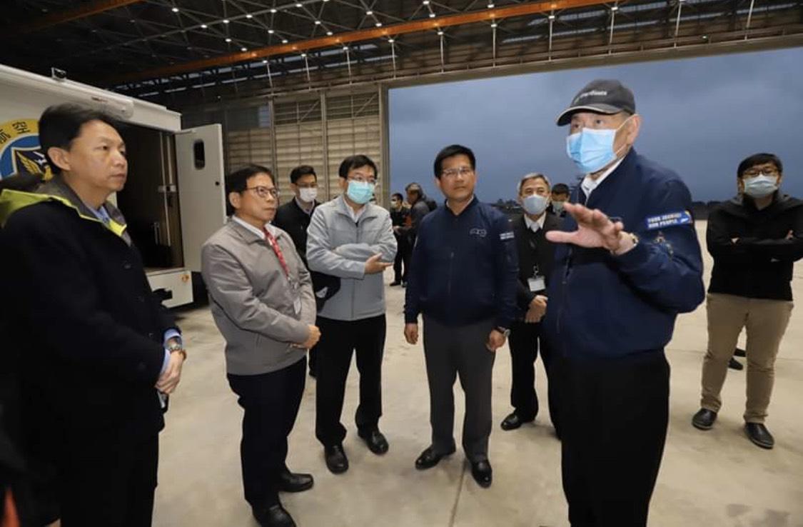 台商專機返台 林佳龍:全力配合中央防堵疫情