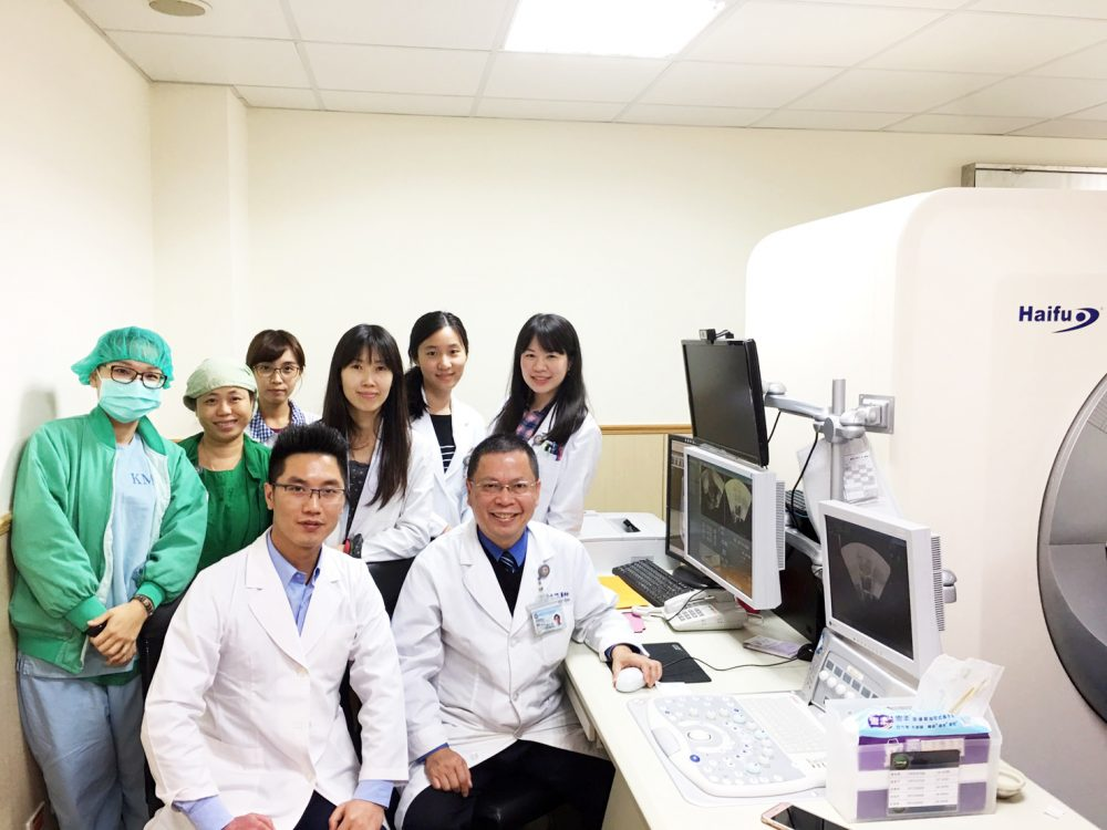 【2018台灣醫療科技展】高醫運用海扶刀有成 將在北台灣和亞洲拓展海扶中心
