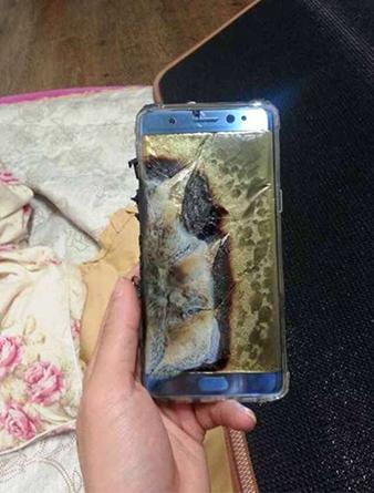Samsung Note7驚傳充電爆炸,南韓暫停出貨