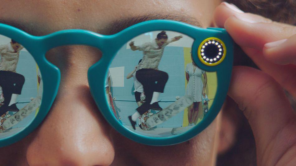 Snapchat進軍硬體市場 推出可錄影太陽眼鏡