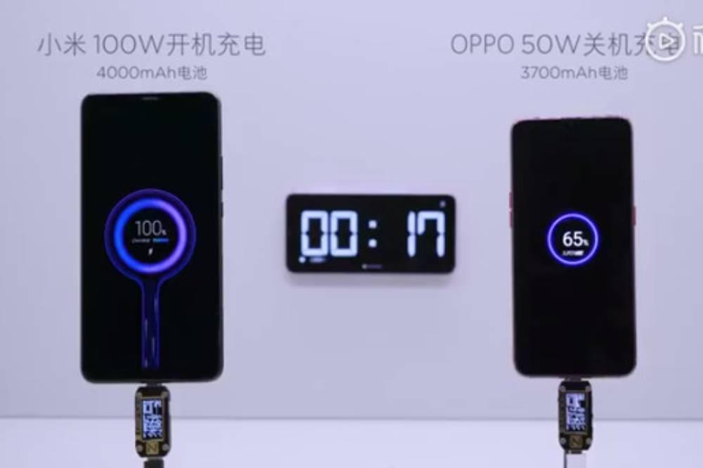 100W超級快充技術將成功商品化?小米高層:已達可成熟量產前期