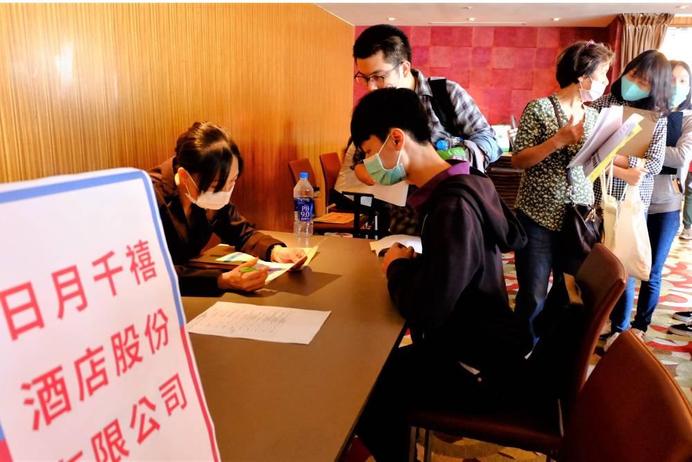 台中亞緻飯店被資遣員工轉職已超過6成