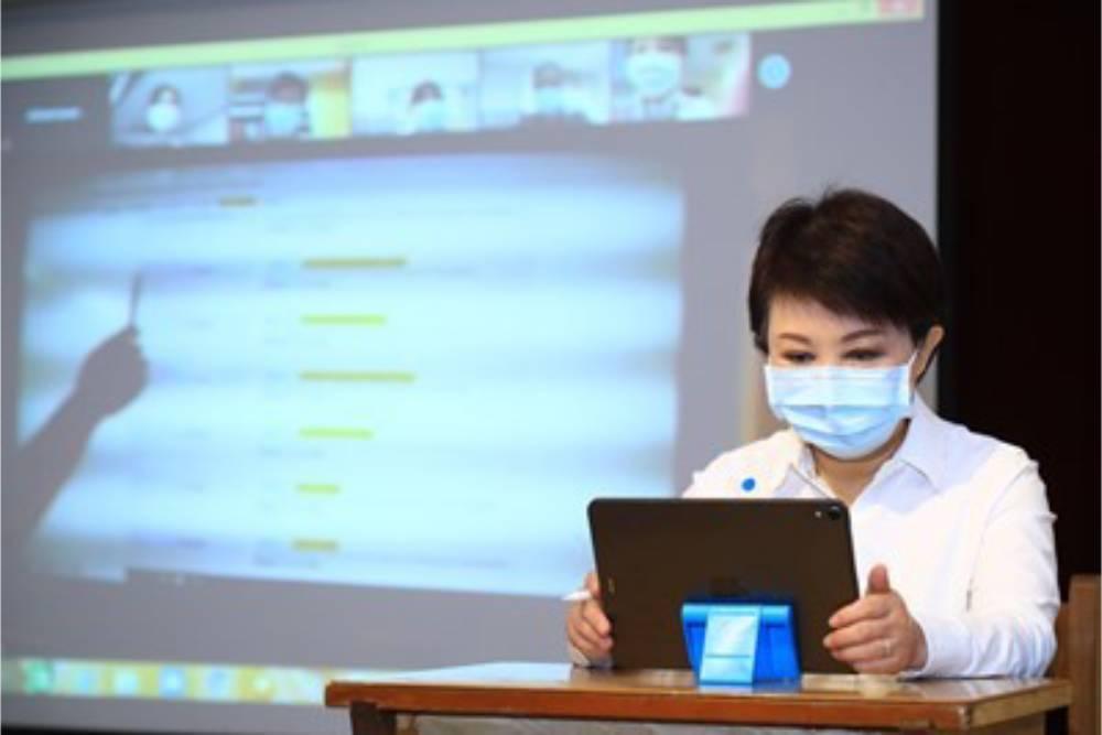 台中市政府超前部署啟動遠距教學