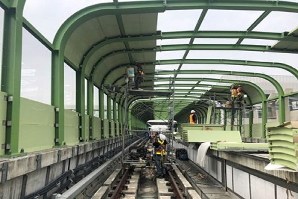 台中捷運綠線減少噪音隔音牆將提前6月底完工
