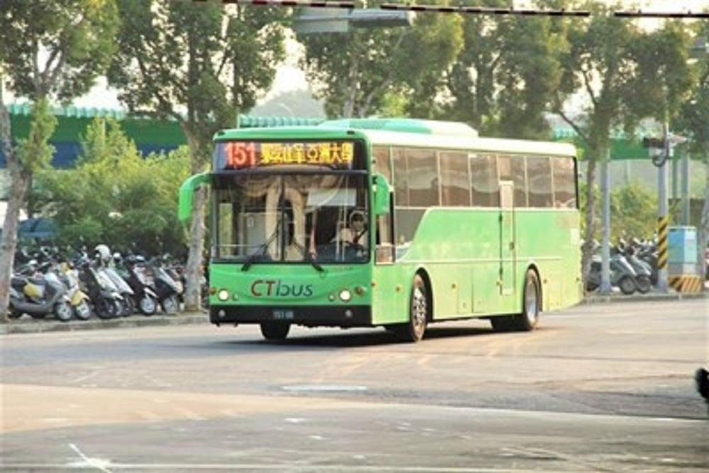 台中部分公車17日起改駛台灣大道公車專用道