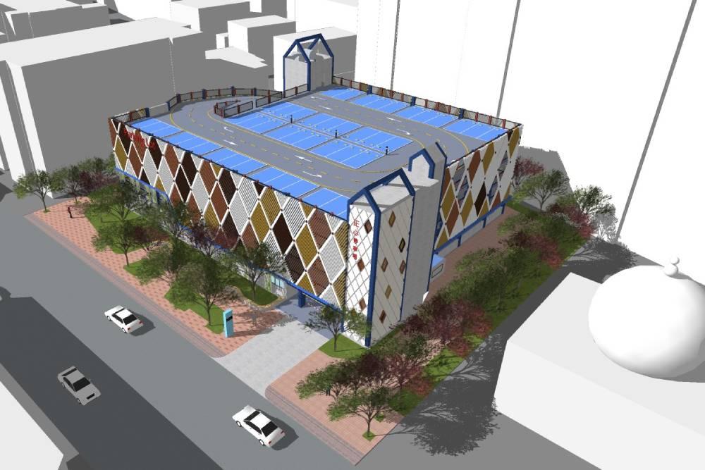 台中南屯將建一座「會呼吸」的停車場